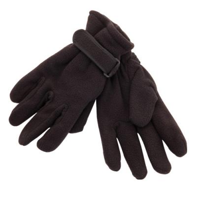 BLACK GREY RED or BLUE Warm Supra Fleece Alpine Gloves 100/% Polyester Unisex New